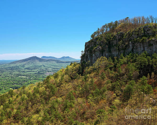 Photograph - Spring At Pilot Mountain by Patrick M Lynch