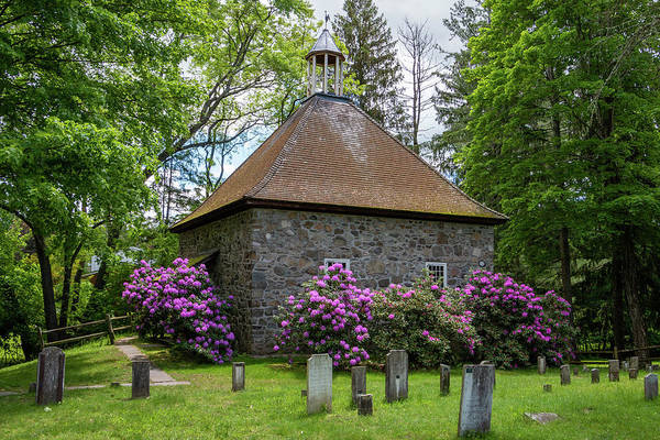 Photograph - Spring At The Crispell Memorial French Church by Jeff Severson