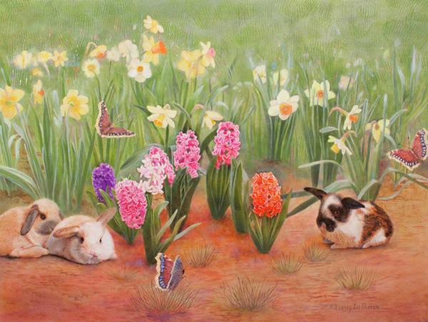 Wall Art - Painting - Spring Awakens by Nancy Lee Moran