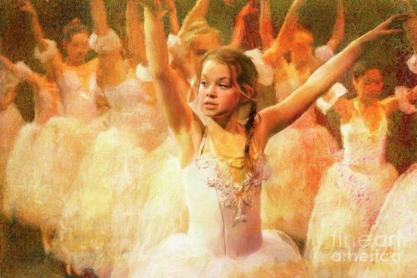 Photograph - Spring Ballet Rehearsal by Craig J Satterlee