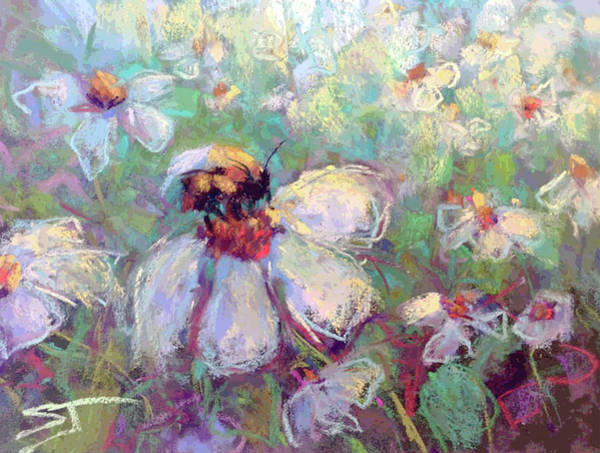 Painting - Spring Bee by Susan Jenkins