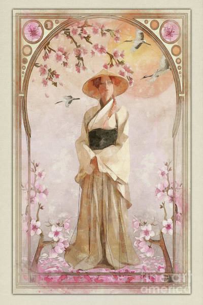 Wall Art - Painting - Spring Blossoms by John Edwards