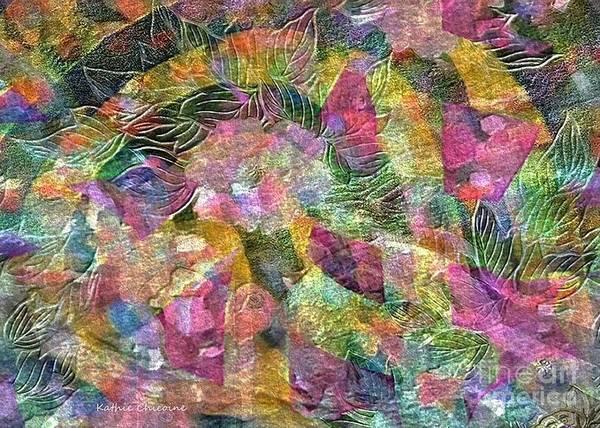 Digital Art - Spring Bouquet by Kathie Chicoine