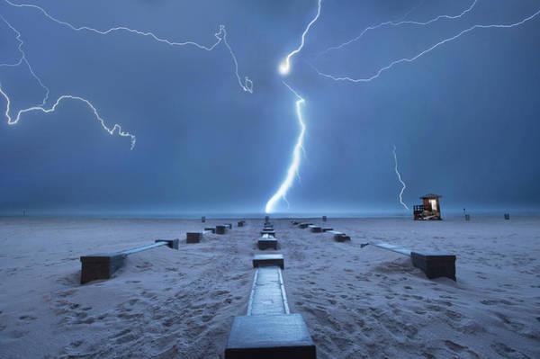 Danger Photograph - Spring Break In Florida by John B. Mueller Photography