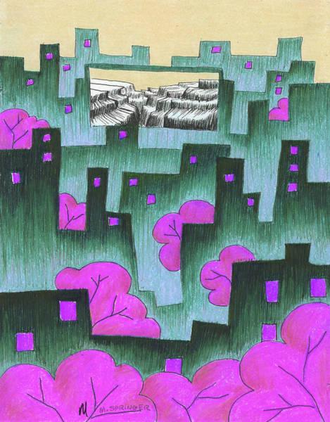 Spring Canyon Art Print