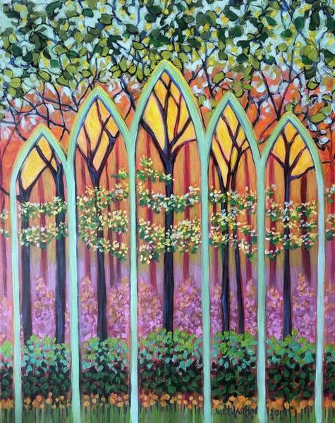 Painting - Spring Cathedral by Jeanette Jarmon