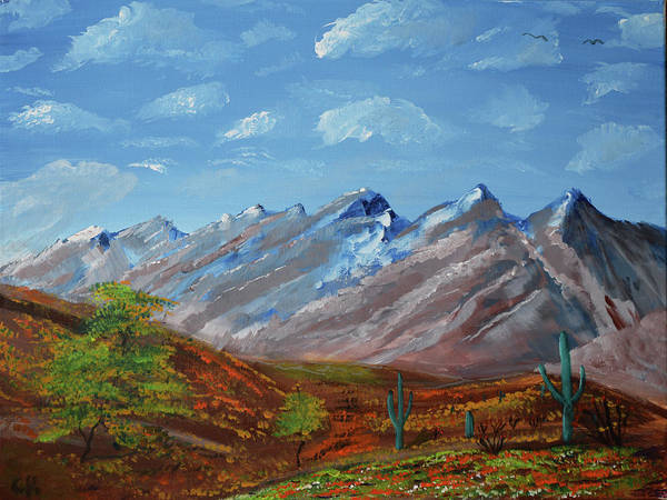 Painting - Spring Comes To Southern Arizona by Chance Kafka
