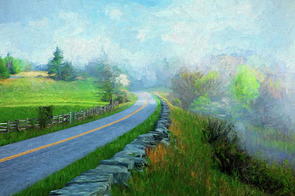 Wall Art - Painting - Spring Comes To The Mountains Ap by Dan Carmichael