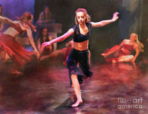 Photograph - Spring Dance Rehearsal 3 by Craig J Satterlee