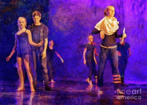 Photograph - Spring Dance Rehearsal 4 by Craig J Satterlee