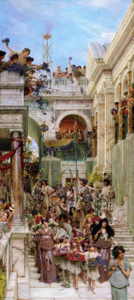 Wall Art - Painting - Spring - Digital Remastered Edition by Lawrence Alma-Tadema