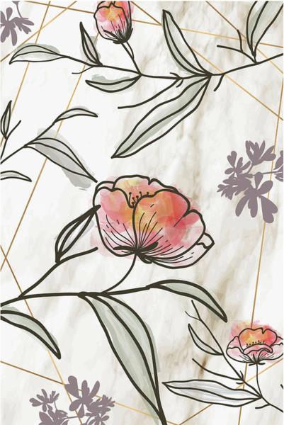 Wall Art - Digital Art - Spring Elegance IIi by Nd Art