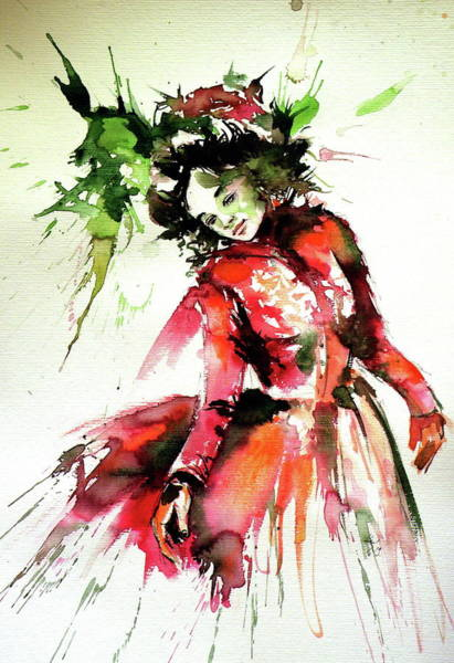 Wall Art - Painting - Spring Fairy by Kovacs Anna Brigitta