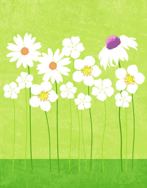 Freshness Digital Art - Spring Flowers by Don Bishop