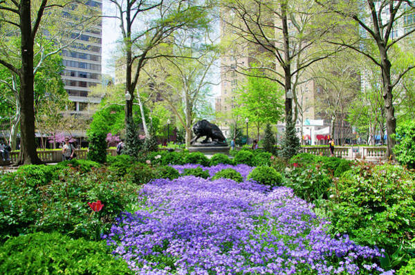 Rittenhouse Square Wall Art - Photograph - Spring Flowers In Rittenhouse Square by Bill Cannon
