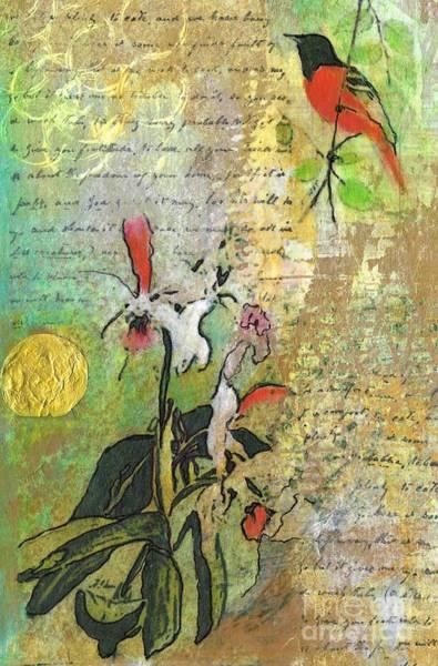 Wall Art - Mixed Media - Spring by Frances Marino