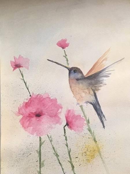Wall Art - Painting - Spring Garden by David Patrick
