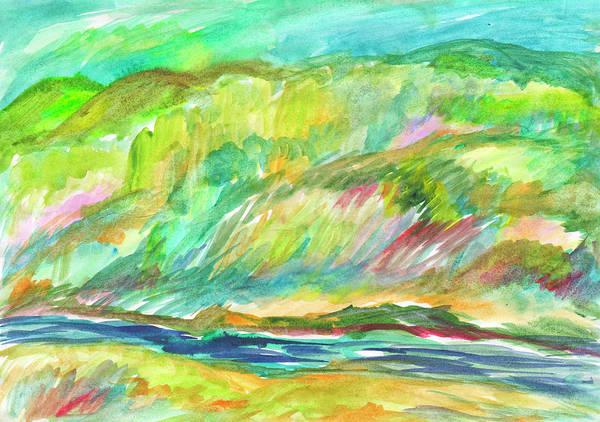 Painting - Spring Grove By The River by Irina Dobrotsvet