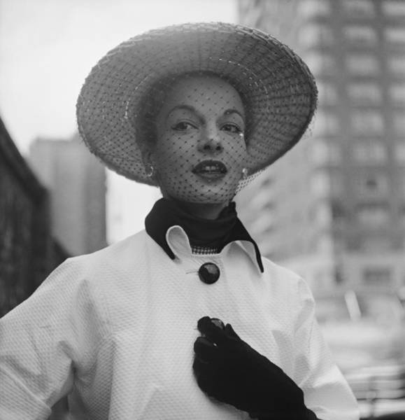 Photograph - Spring Hat Fashions by Gordon Parks