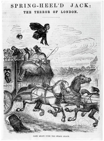 Stagecoach Photograph - Spring-heeled Jack by Hulton Archive