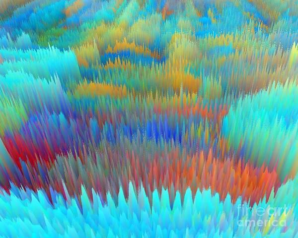 Digital Art - Spring In A Field  by Rob Mandell