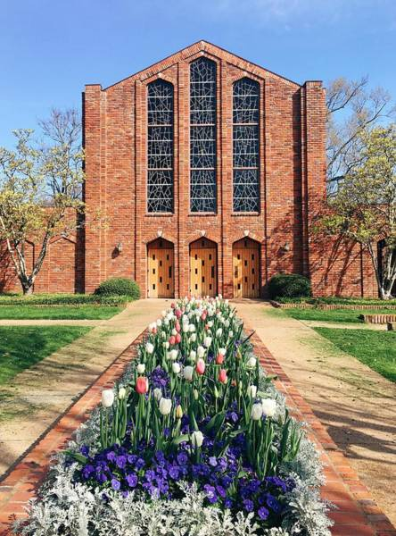 Photograph - Spring Is Here At The Chapel Of Memories by Parker Cunningham