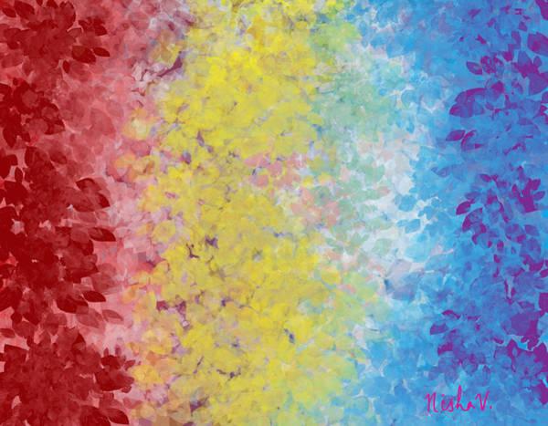 Wall Art - Digital Art - Spring Joy by Nishma Creations