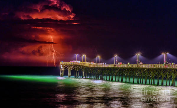 Photograph - Spring Lightning by DJA Images