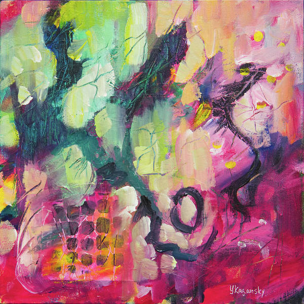 Painting - Spring Mood by Yulia Kazansky