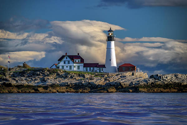 Wall Art - Photograph - Spring Morning At Portland Head Lighthouse by Rick Berk