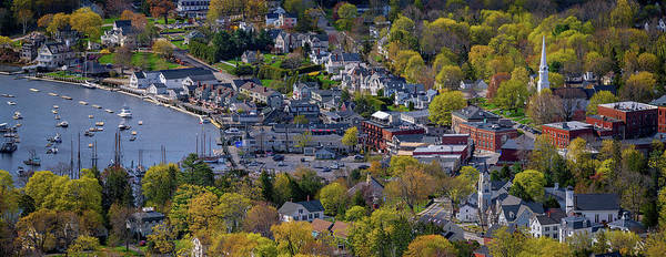 Wall Art - Photograph - Spring Morning In Camden, Maine by Rick Berk