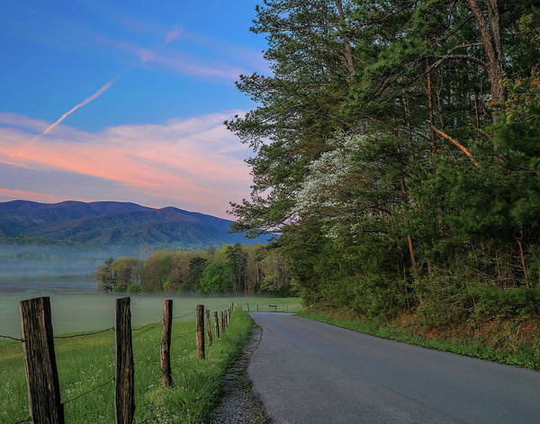 Photograph - Spring Morning On Cades Cove Loop by Dan Sproul