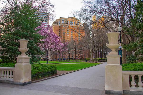 Rittenhouse Square Wall Art - Photograph - Spring Morning - Rittenhouse Square - Philadelphia by Bill Cannon