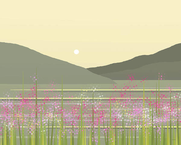 Digital Art - Spring On The River by Val Arie