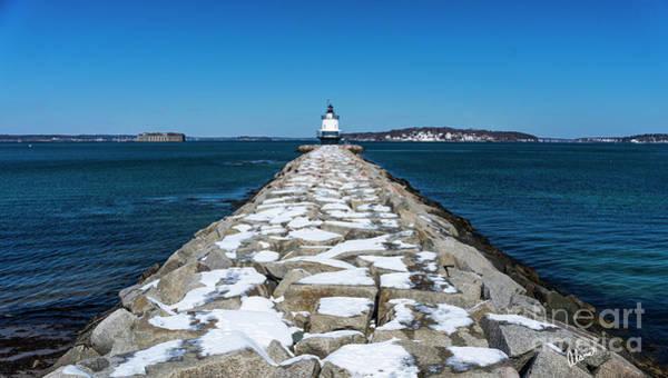 Photograph - Spring Point Ledge Lighthouse by Alana Ranney