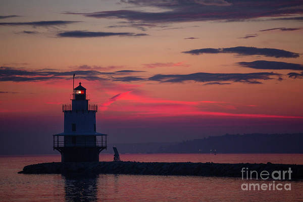Casco Bay Photograph - Spring Point Ledge Lighthouse by Diane Diederich