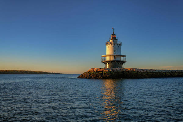Wall Art - Photograph - Spring Point Ledge Lighthouse On A Spring Morning by Rick Berk