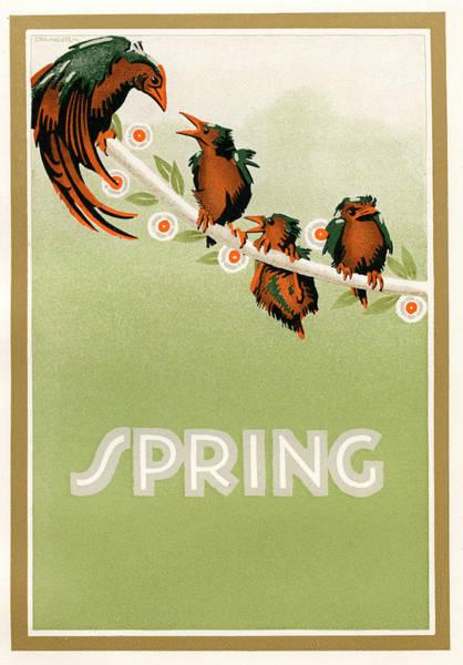 Spring Poster By Granger Art Print
