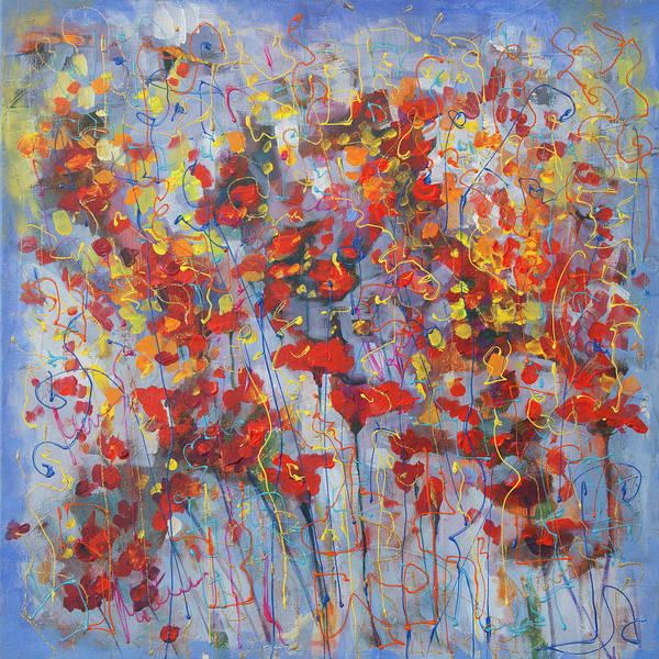 Painting - Spring Reds by Maxim Komissarchik