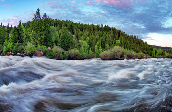 Photograph - Spring Runoff by Leland D Howard