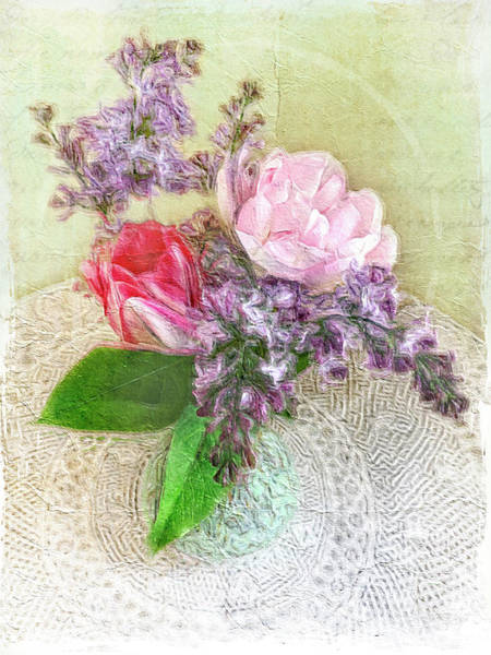 Photograph - Spring Song Floral Still Life by Jill Love