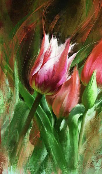 Wall Art - Digital Art - Spring Splendor by Garth Glazier