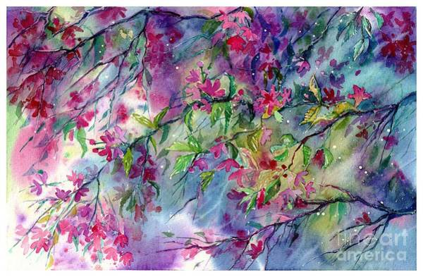 Wall Art - Painting - Spring Storm by Suzann Sines