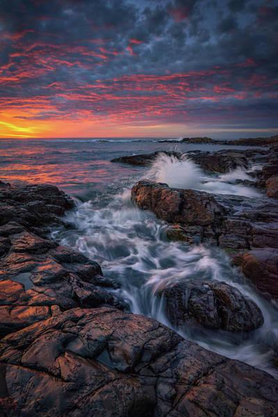 Photograph - Spring Sunrise At Marginal Way by Kristen Wilkinson