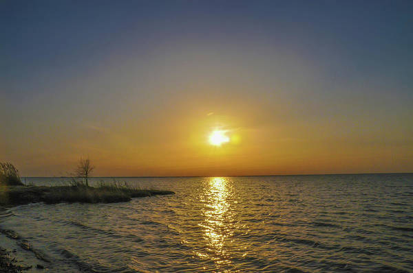 Photograph - Spring Sunrise On The Chesapeake Bay - St Michaels Maryland by Bill Cannon