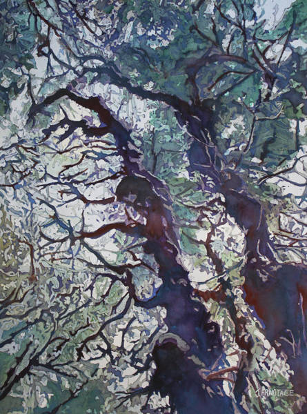Painting - Spring Tangle by Jenny Armitage