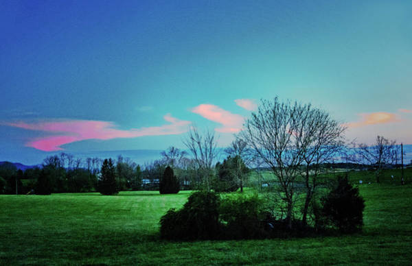 Photograph - Spring Twilight, Shenandoah Valley by Bill Jonscher