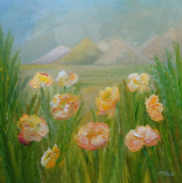 Painting - Springing Joy by Angeles M Pomata