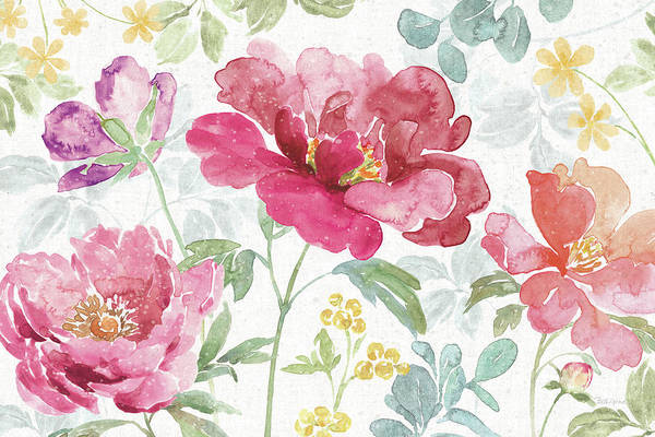 Wall Art - Painting - Springtime Bloom I by Beth Grove