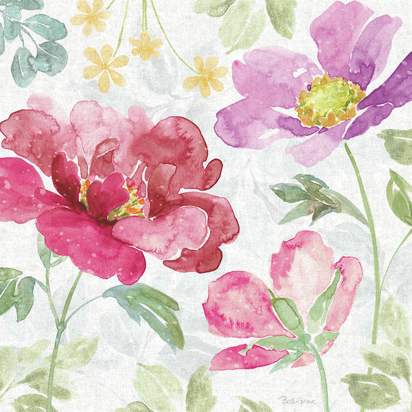 Wall Art - Painting - Springtime Bloom II by Beth Grove